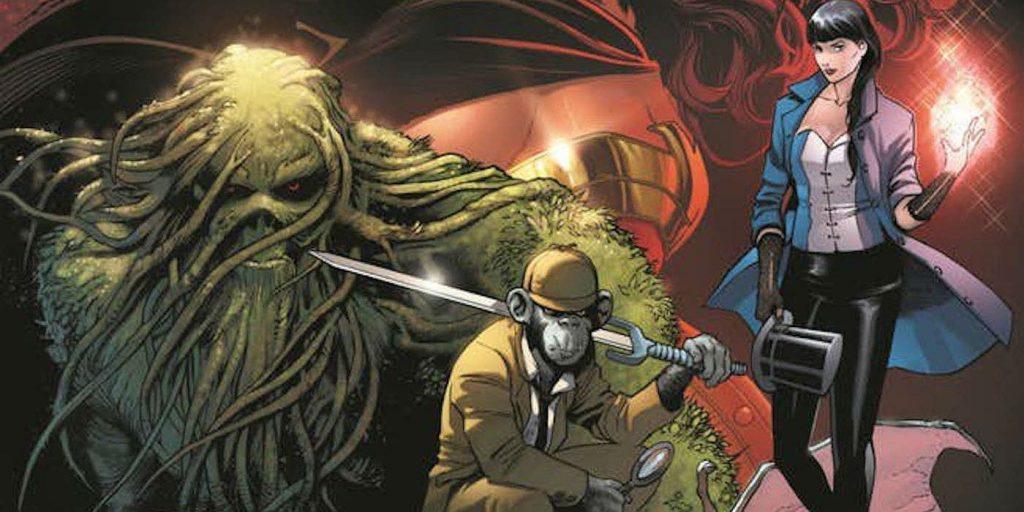 Justice League Dark - Art by Alvaro Martinez - DC Comics