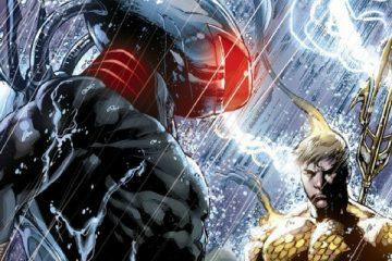 Black Manta and Aquaman by Ivan Reis - DC Comics