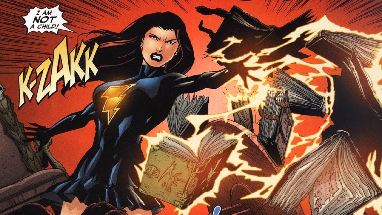 Mary Marvel In Countdown To Final Crisis Art By Matthew