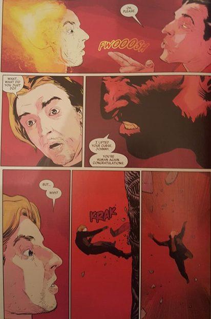 Mephisto and Johnny Blaze
