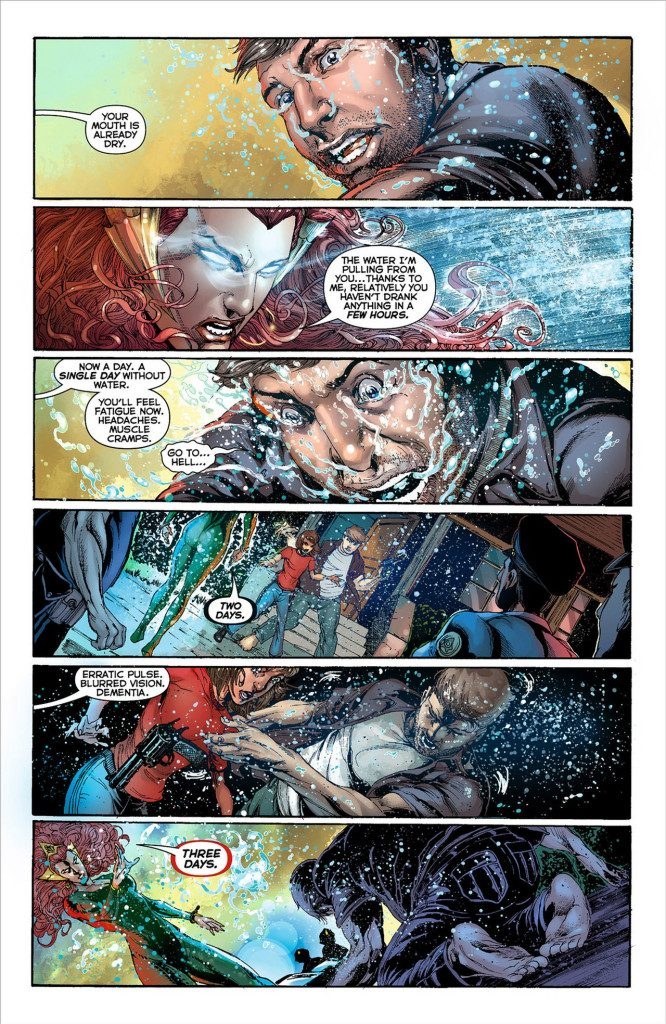 "Mera in ""Aquaman"" - DC Comics"