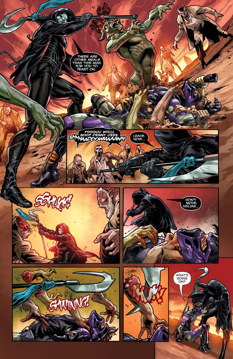 Ninjak vs The Valiant Universe #3
