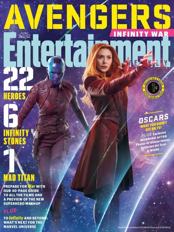 Nebula and Scarlet Witch
