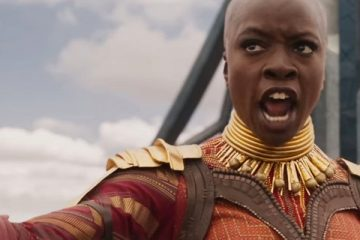 Danai Gurira as Okoye in Black Panther - Marvel Studios and Disney