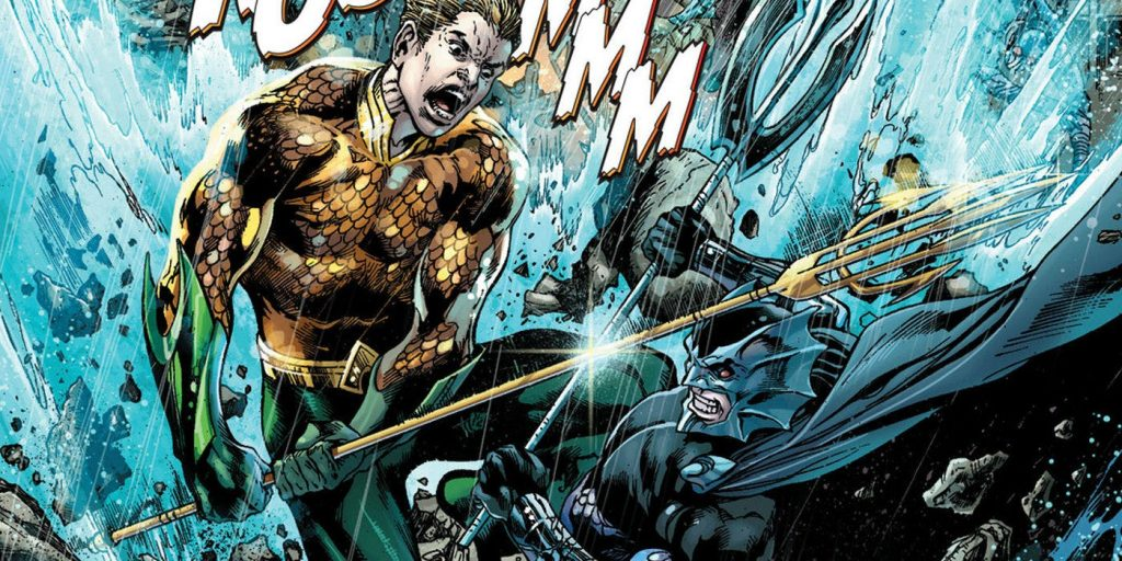 Ocean Master Orm and Aquaman - DC Comics
