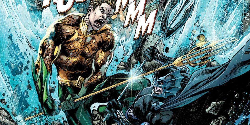 Ocean Master Orm and Aquaman - DC Comics