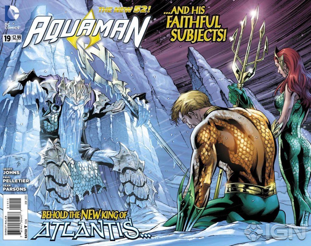 Aquaman #19 Cover - Art by Paul Pelletier - DC Comics