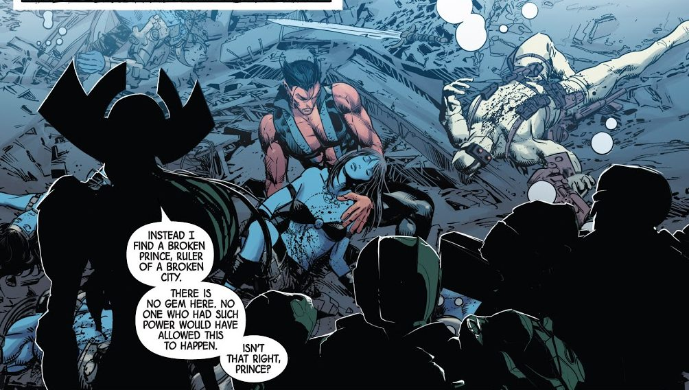 Proxima Midnight and Namor