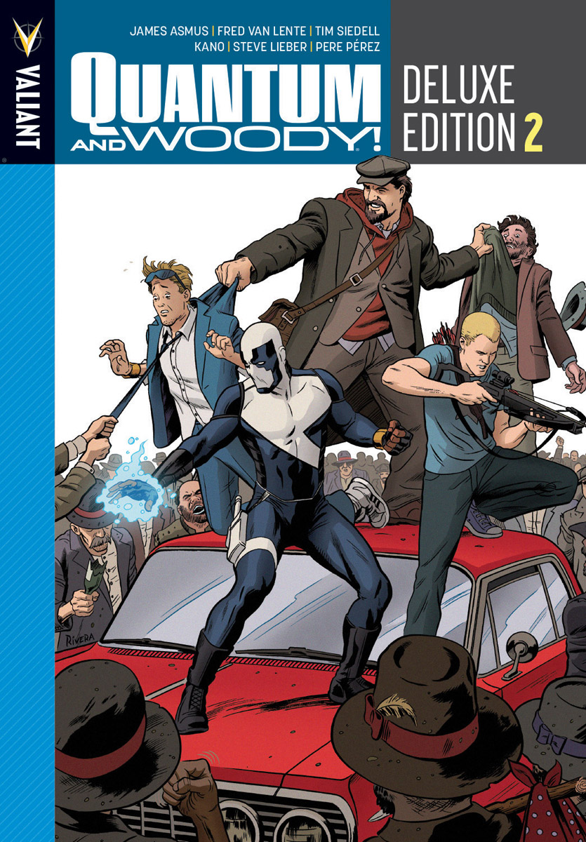 Quantum and Woody Deluxe Edition Book 2 HC