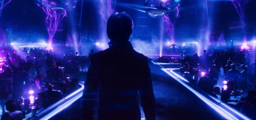 "Parzival in ""Ready Player One"" - Warner Bros. Pictures and Amblin Entertainment"