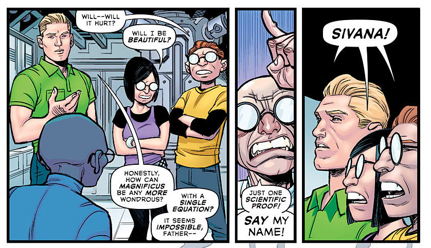 Dr. Sivana and Family - Multiversity - DC Comics