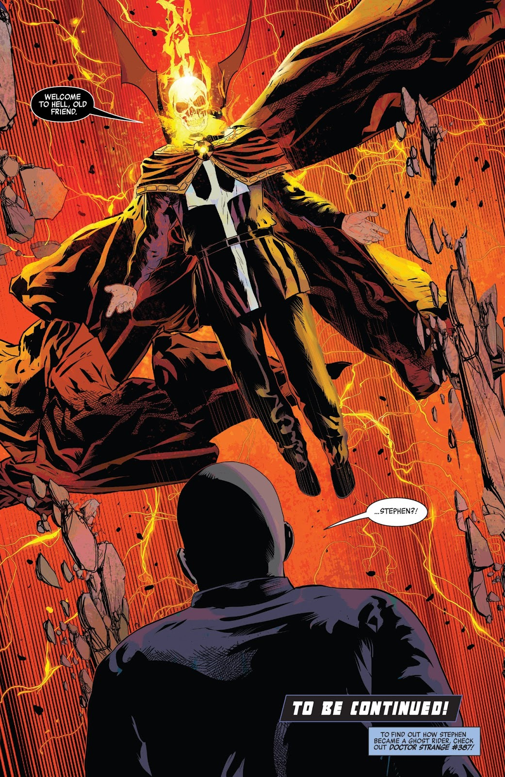 marvel just created a brand new ghost rider! - bounding into comics