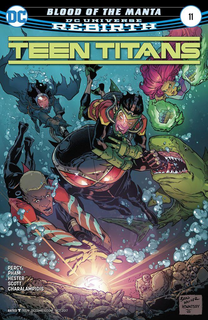 Black Manta on Teen Titans: Rebirth #11 - DC Comics