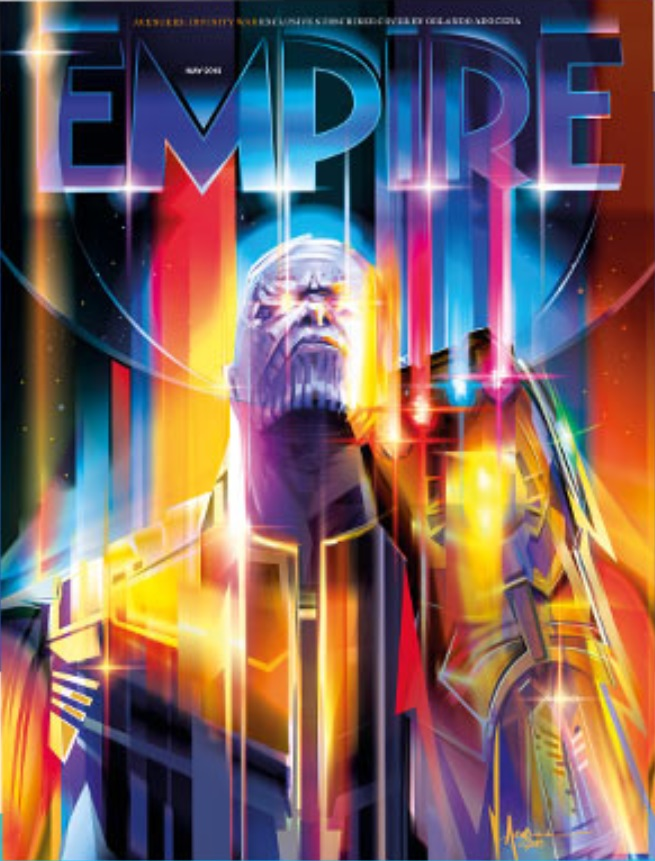 Thanos Empire Magazine Cover
