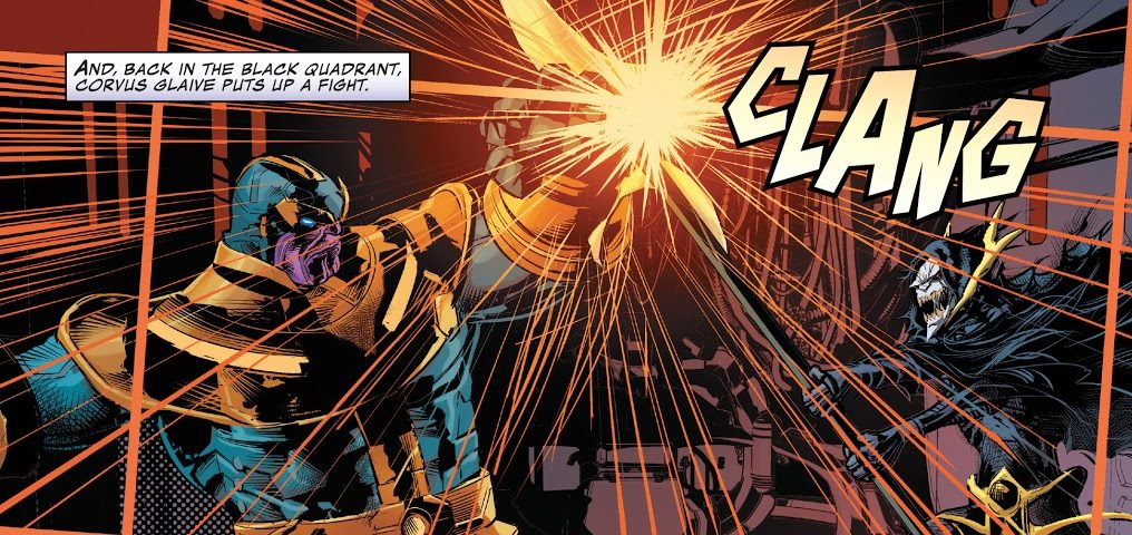Thanovs vs Corvus Glaive