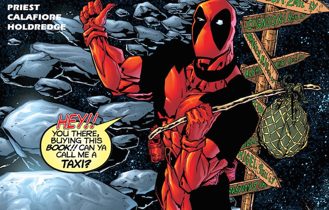 Deadpool/4thwall