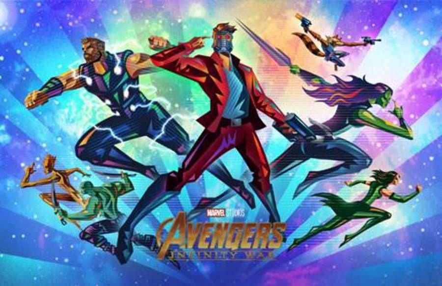 Fandango Avengers Infinity War Poster