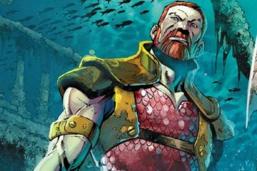 King Nereus - Art by Paul Pelletier - DC Comics