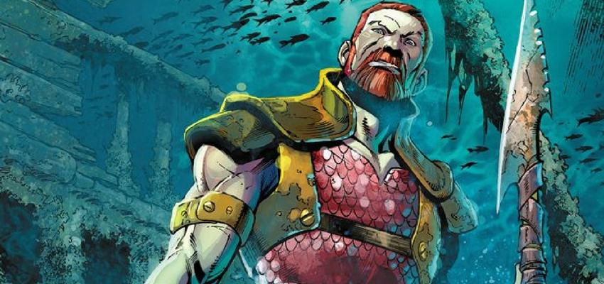 King Nereus - Art by Paul Pelletier - DC Comics