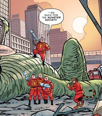 """The Lieutenant Marvels in """"Multiversity"""" - Art by Cameron Stewart"""