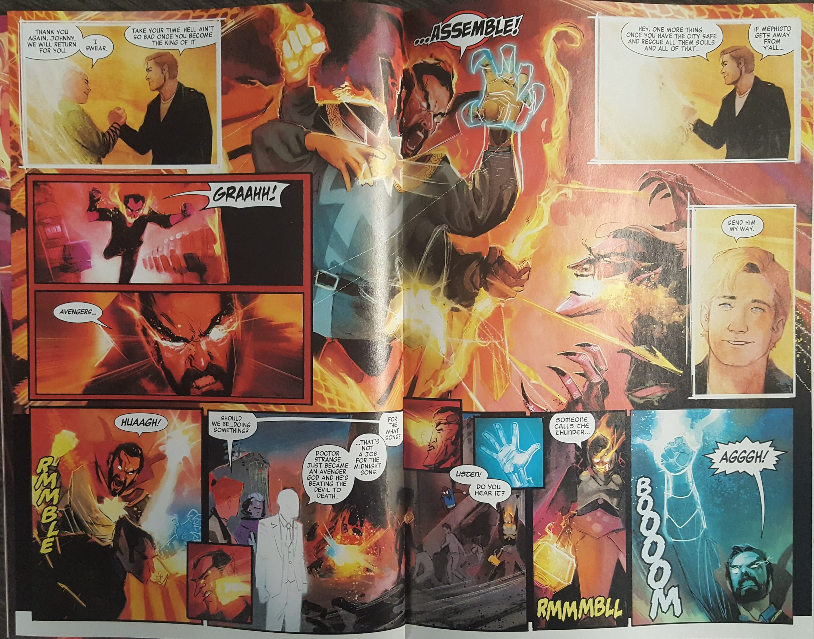 Doctor Strange Damnation #4