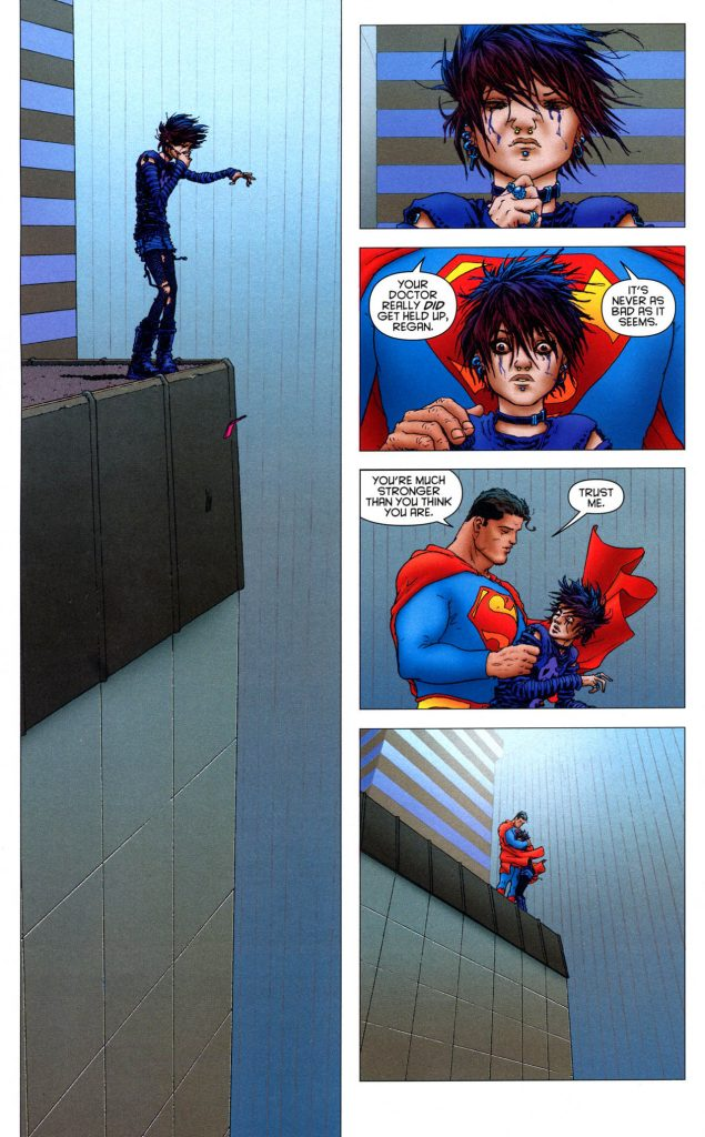 "Superman in ""All-Star Superman"" - Art by Frank Quitely - DC Comics"