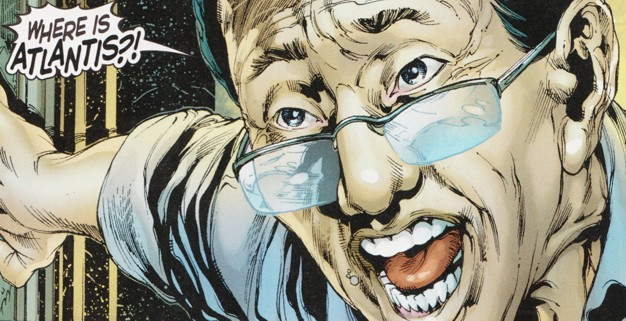 "Dr. Shin in ""Aquaman"" - Art by Ivan Reis - DC Comics"