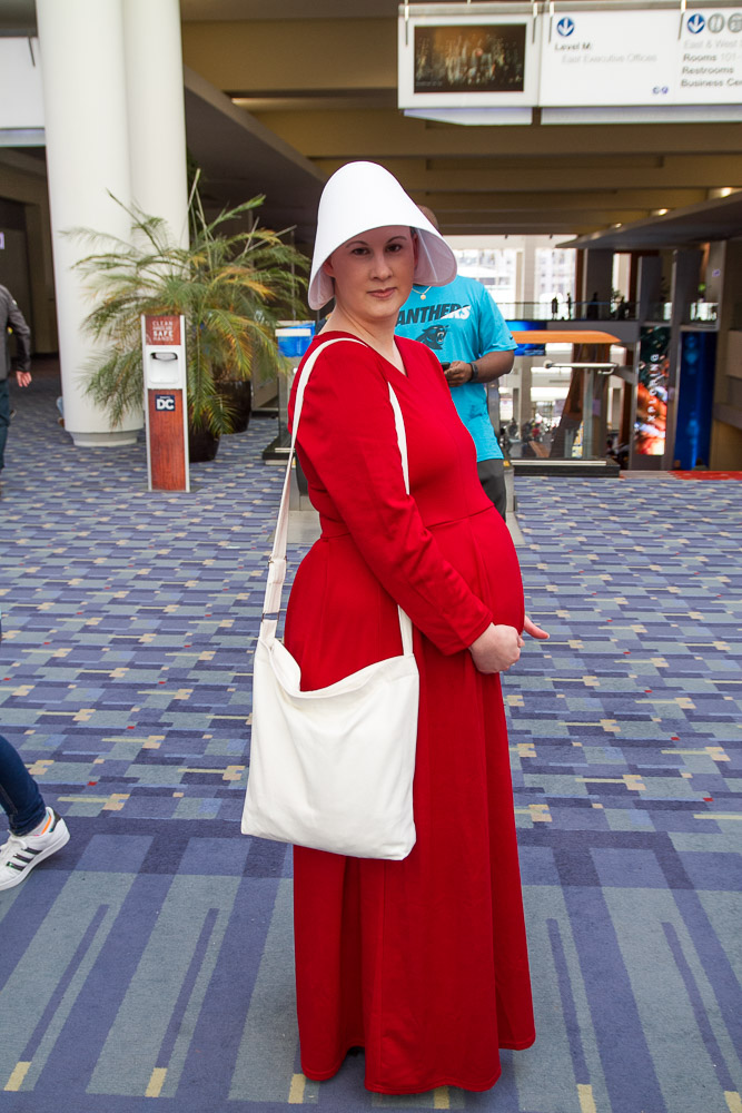 Handmaid from The Handmaid's Tale