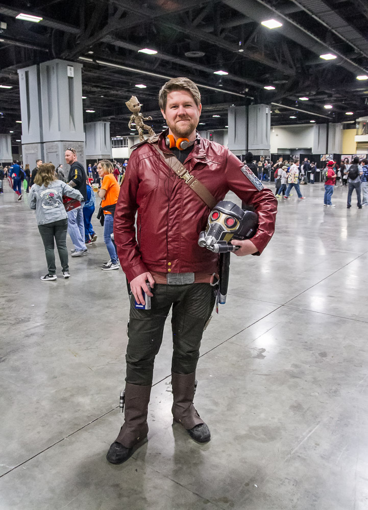 Star-Lord and Baby Groot