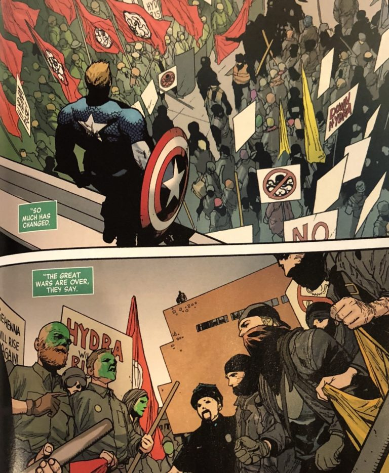 Free Comic Book Day History: Leaked Photos Show Antifa Will Debut In Ta-Nehisi Coates