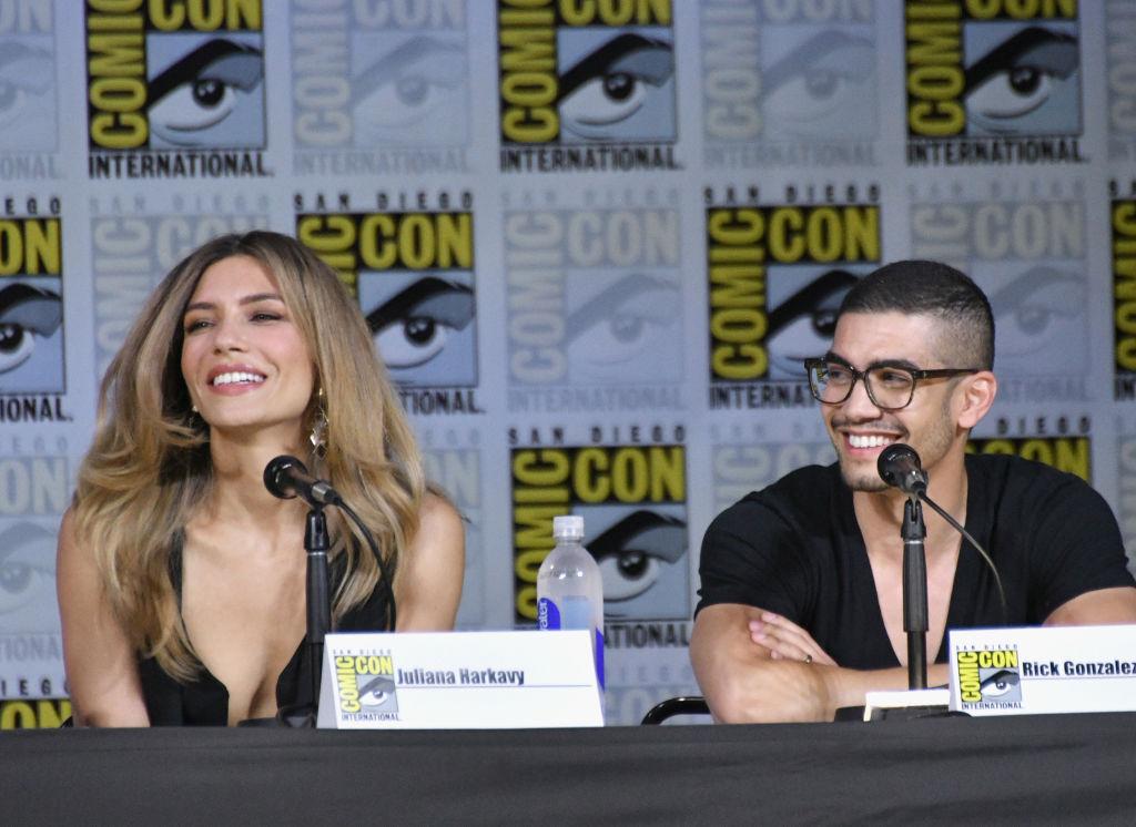 Juliana Harkavy and Rick Gonzalez