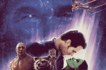 Guardians of the Galaxy/Star Wars mashup poster