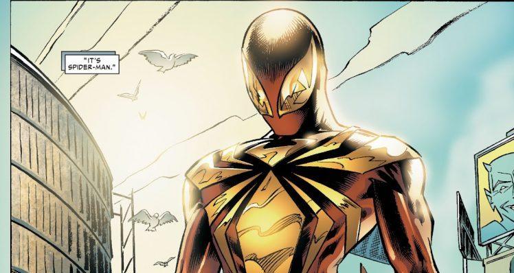 Iron Spider-Man suit