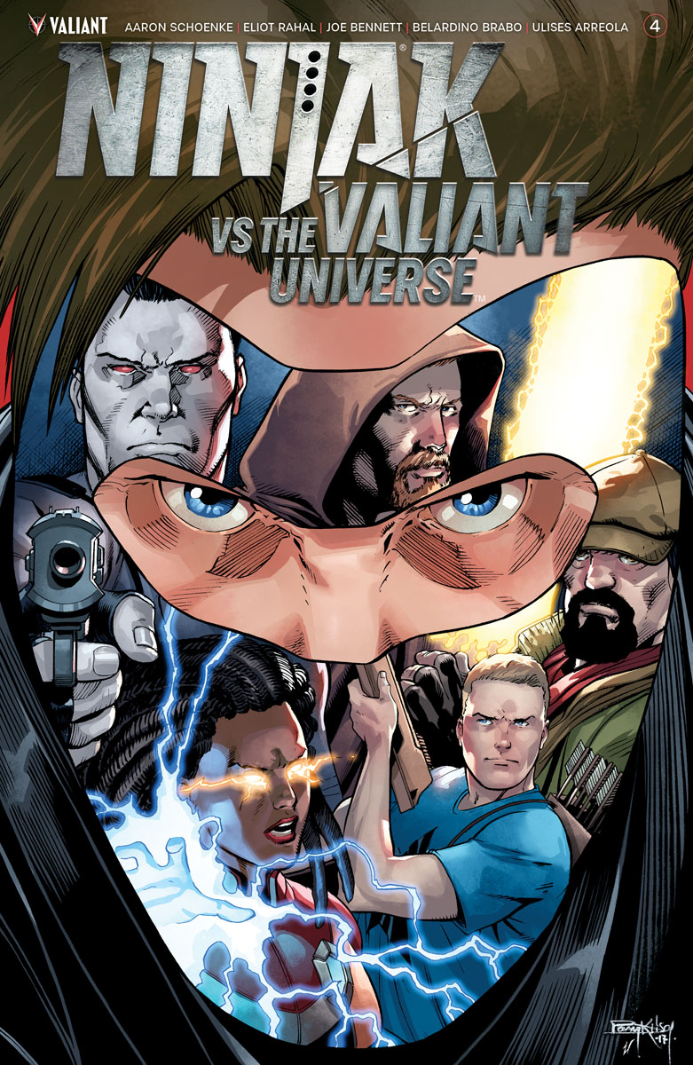 Ninjak vs the Valiant Universe #4