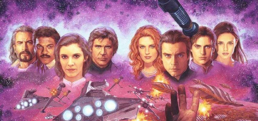 Star Wars: Extended Universe Novel Art - Lucasfilm