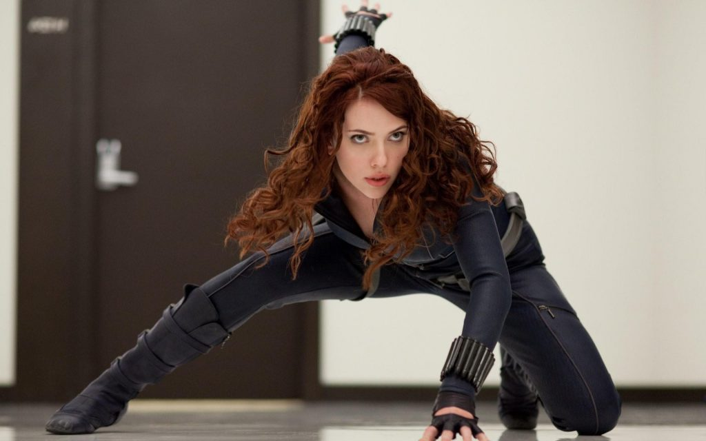 "Scarlett Johannson in ""Iron Man"" - Marvel Studios"