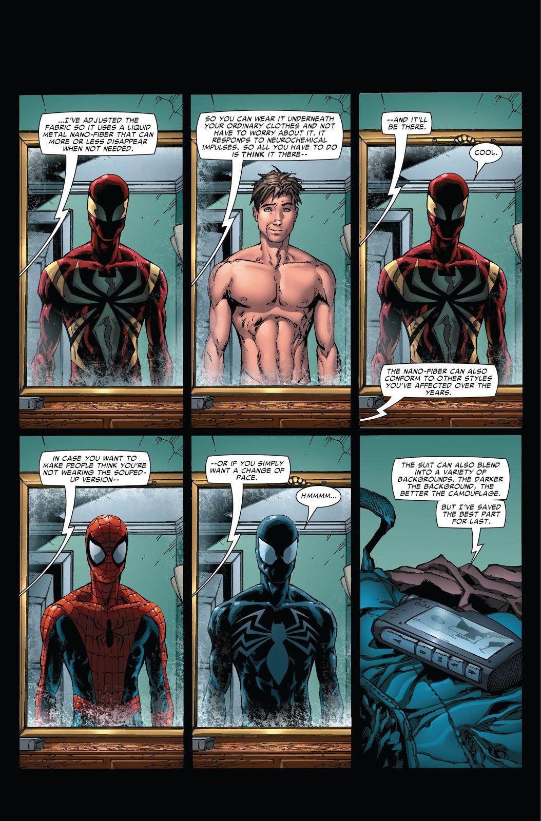 Iron Spider Upgrades