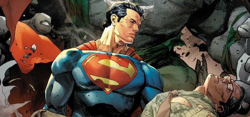 "Superman in ""Trinity"" - Art by Clay Mann - DC Comics"