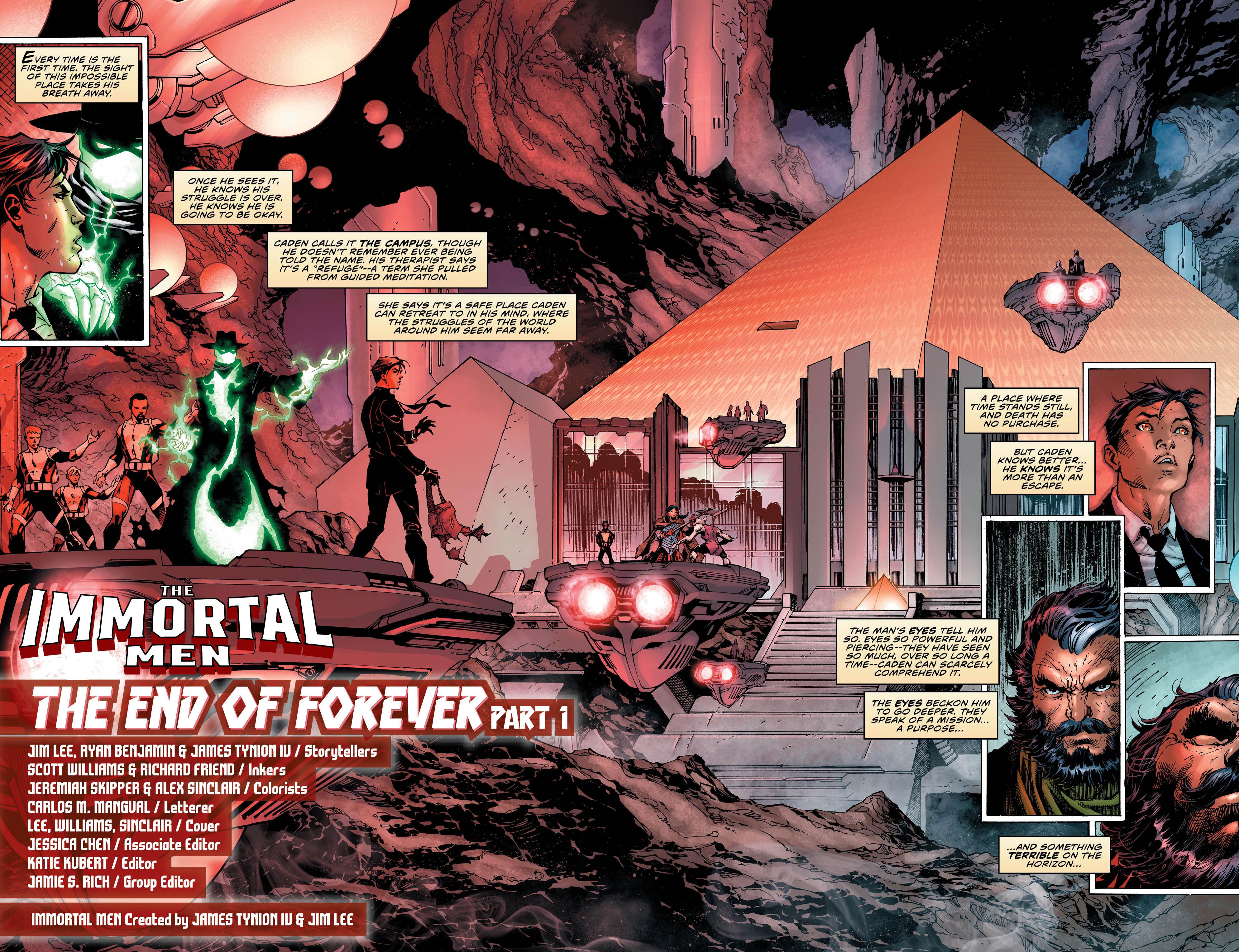 The Immortal Men #1