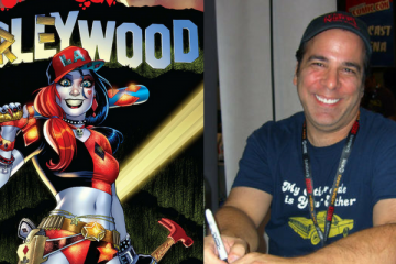 Jimmy Palmiotti and Harley Quinn