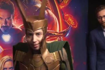 Tom Hiddleston Surprise