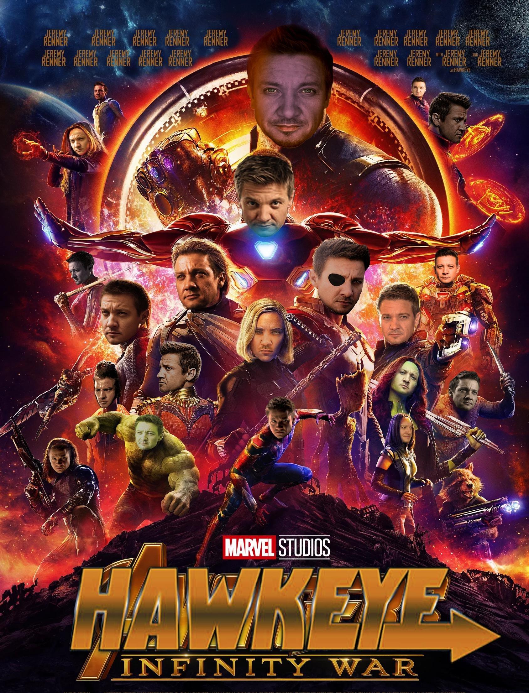 Hawkeye Meme