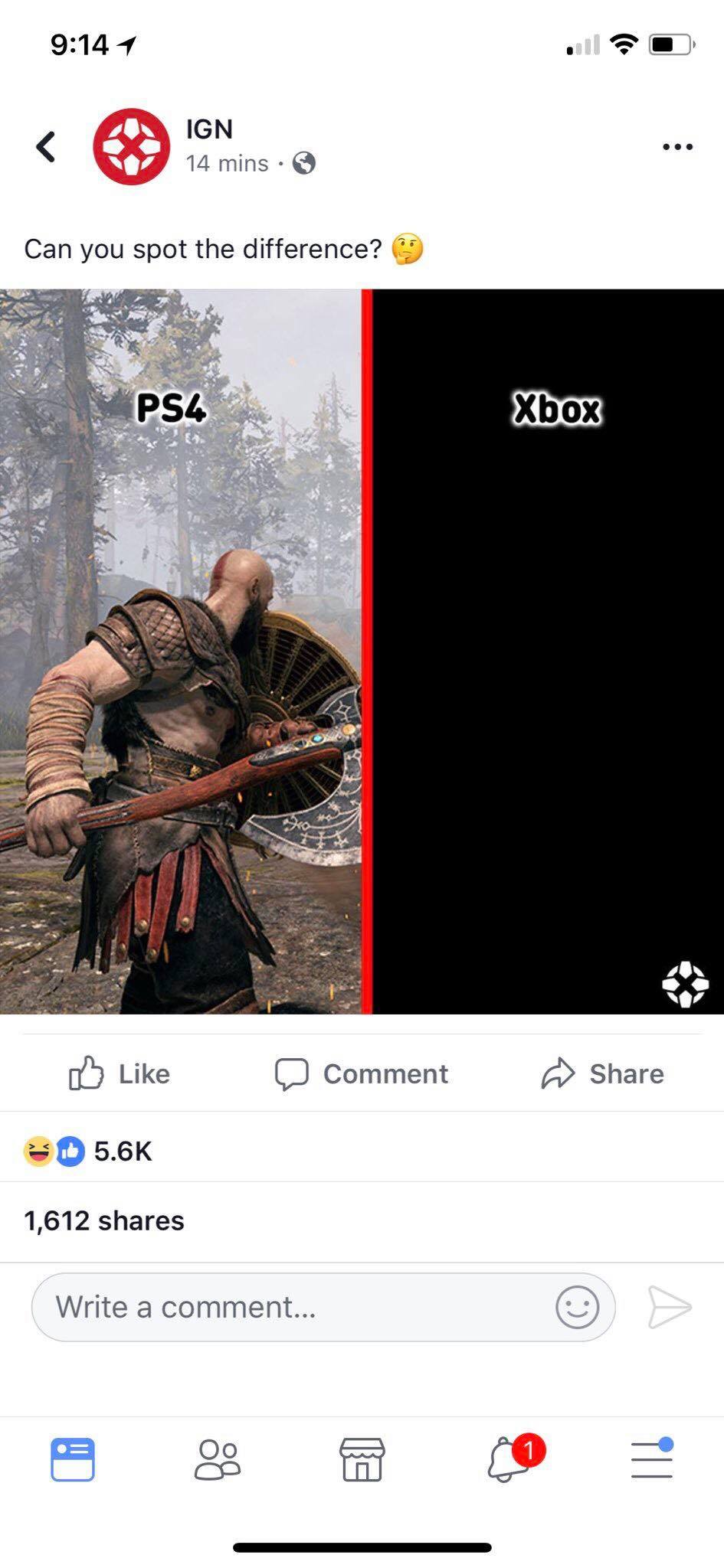 IGN Meme -GoW
