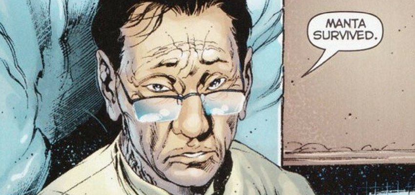 "Dr. Shin in ""Aquaman"" - DC Comics"