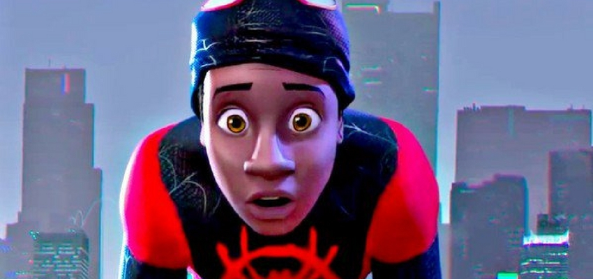 "Miles Morales in ""Spider-Man: Into the Spider-Verse"" - Sony Pictures Animation"