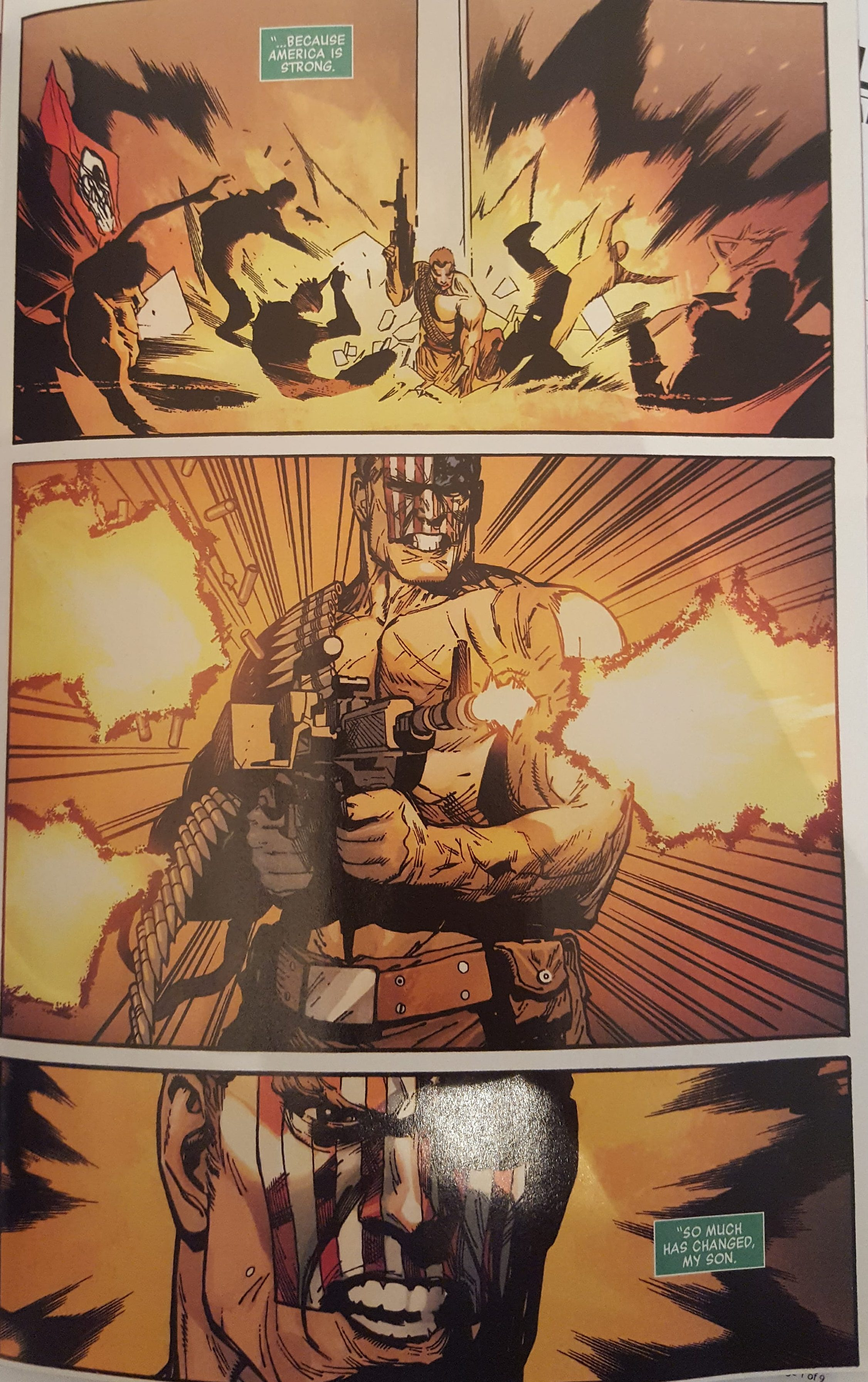 Free Comic Book Day Captain America