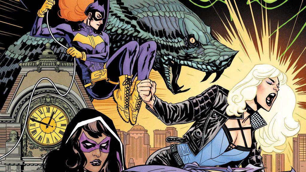 Birds of Prey Art by Yanick Pacquette - DC Comics