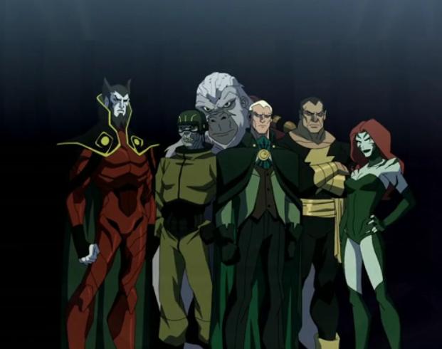 Black Adam - Young Justice - DC Comics