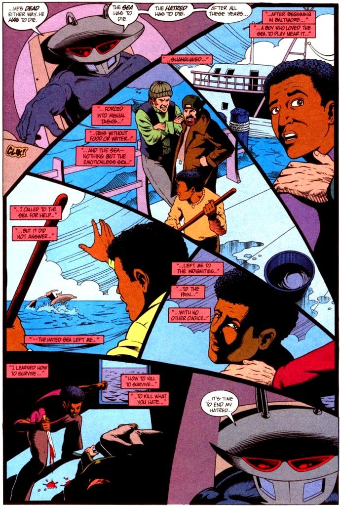 Black Manta Origin - DC Comics