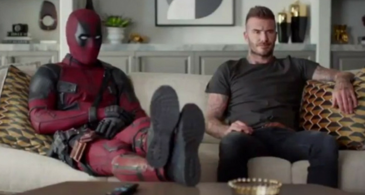 Deadpool and David Beckham
